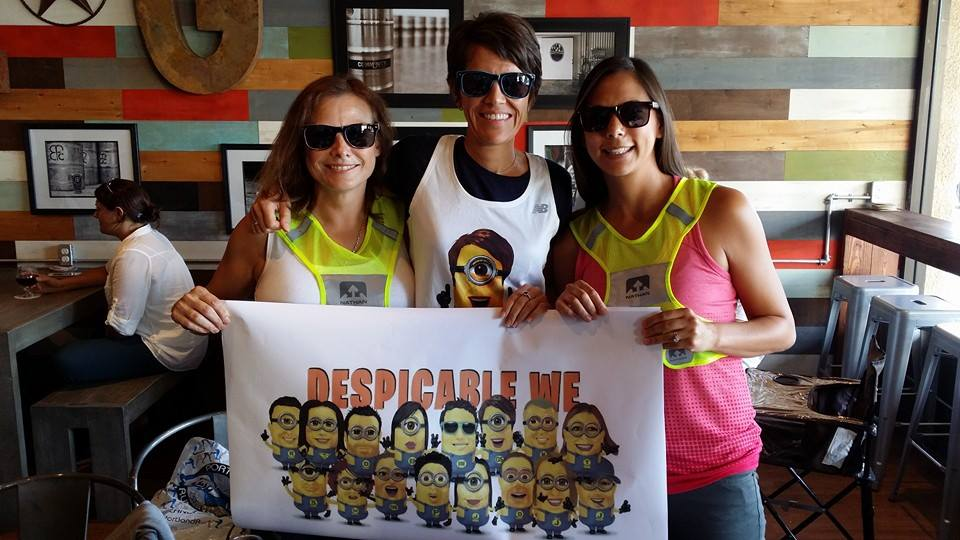 The unveiling of the Despicable We campaign, featuring Susan, Gigi and Jenny: Photo (and poster) by Paris Sunio